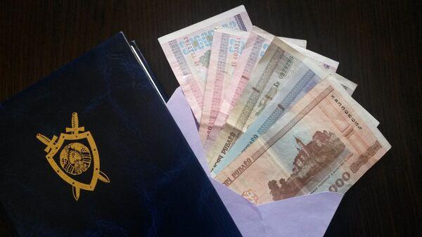 Белорусские деньги в конверте - Sputnik Беларусь