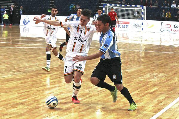 Матч за третье место между сборными Бельгии и Аргентины на Чемпионате мира по футзалу - Sputnik Беларусь