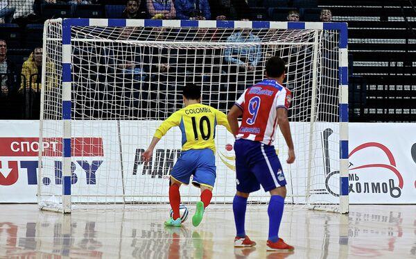 Финал Чемпионата мира по футзалу между сборными Колумбии и Парагвая - Sputnik Беларусь
