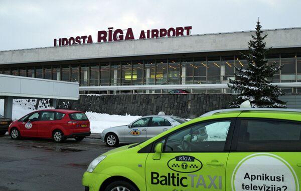 Будынак міжнароднага аэрапорту Рыга, архіўнае фота - Sputnik Беларусь