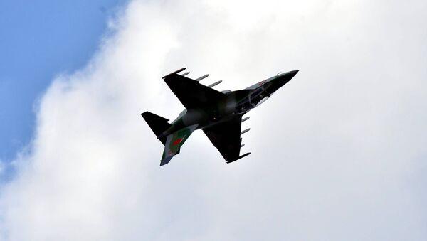 Як-130 в белорусском небе - Sputnik Беларусь