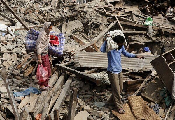 Последствия землетрясения в Непале - Sputnik Беларусь