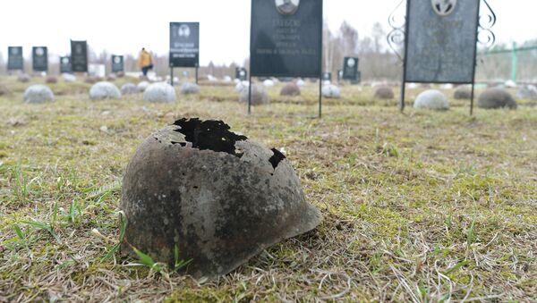 Воинские захоронения в деревне Пищалино Тверской области - Sputnik Беларусь