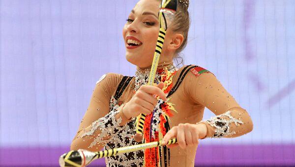 Художественная гимнастика. Чемпионат Европы - Sputnik Беларусь