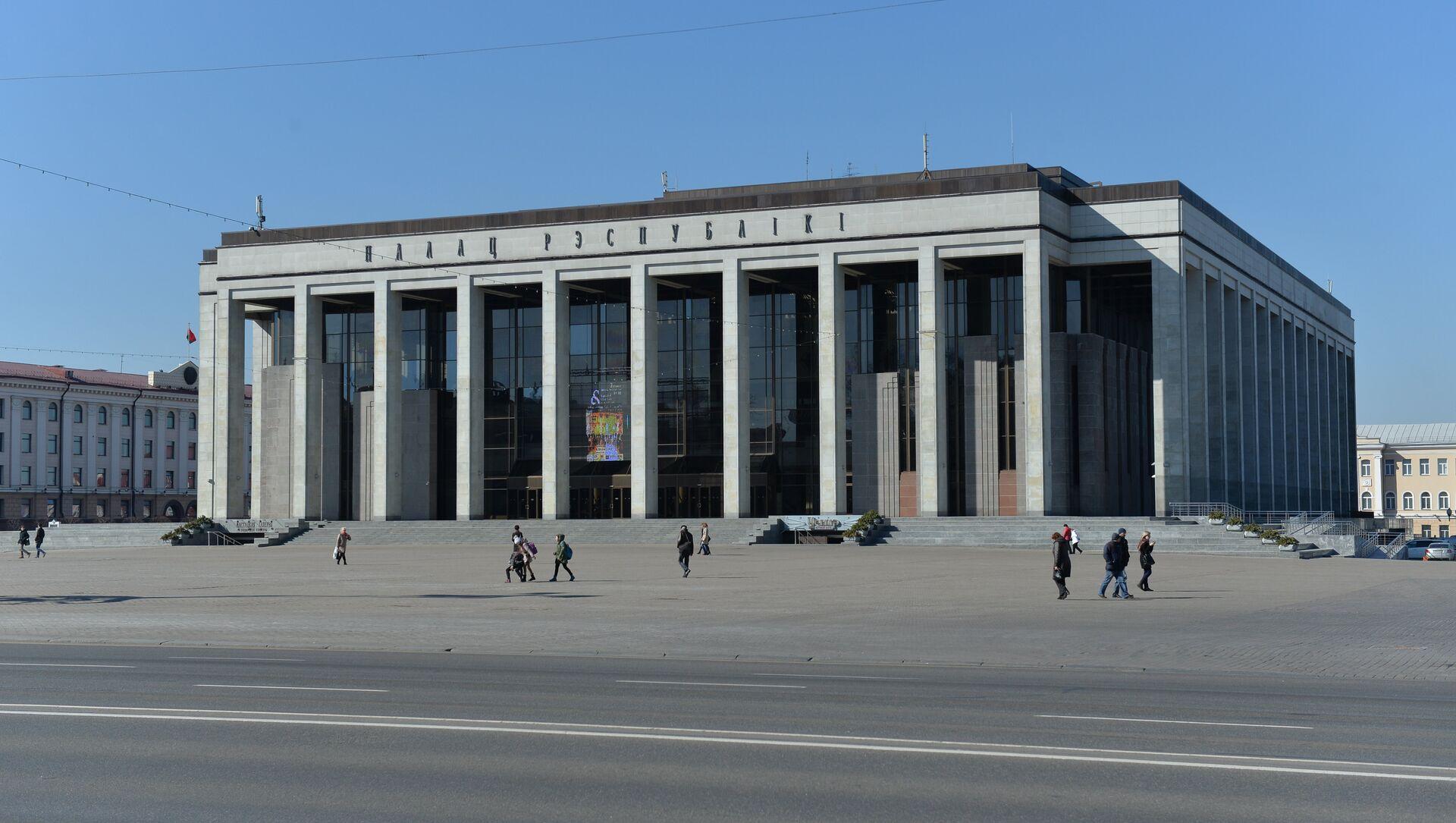 Палац Рэспублікі ў Мінску - Sputnik Беларусь, 1920, 03.02.2021