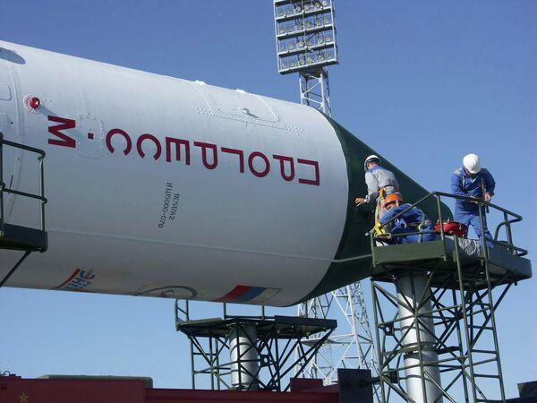 На космодроме Байконур - Sputnik Беларусь