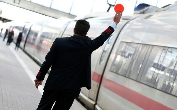 Забастоўка машыністаў Deutsche Bahn - Sputnik Беларусь