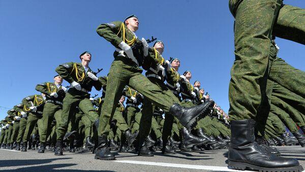 Парад в честь 70-летия Победы в Великой Отечественной войне - Sputnik Беларусь