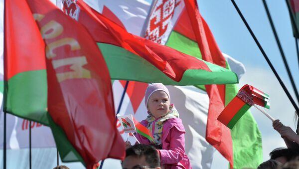 Флаги на празднике - Sputnik Беларусь