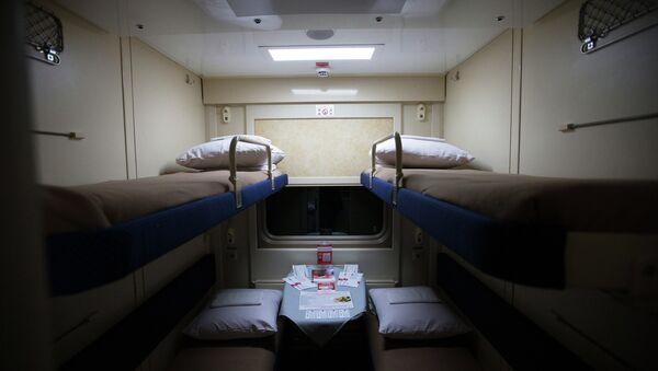 В поезде Петербург-Москва - Sputnik Беларусь