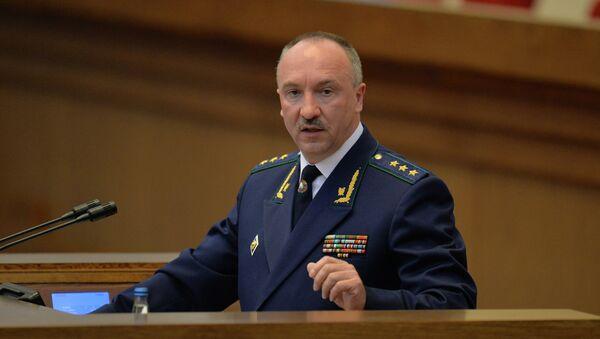 Генеральный прокурор Беларуси Александр Конюк в парламенте - Sputnik Беларусь