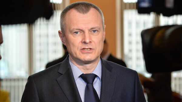 Министр внутренних дел Беларуси Игорь Шуневич в парламенте - Sputnik Беларусь