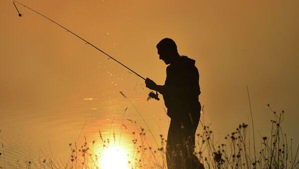 Рыбалка, архивное фото - Sputnik Беларусь