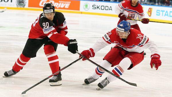Хоккей. Чемпионат мира - 2015. Матч Канада - Чехия - Sputnik Беларусь