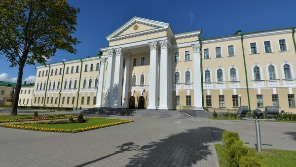Здание Следственного комитета Республики Беларусь - Sputnik Беларусь