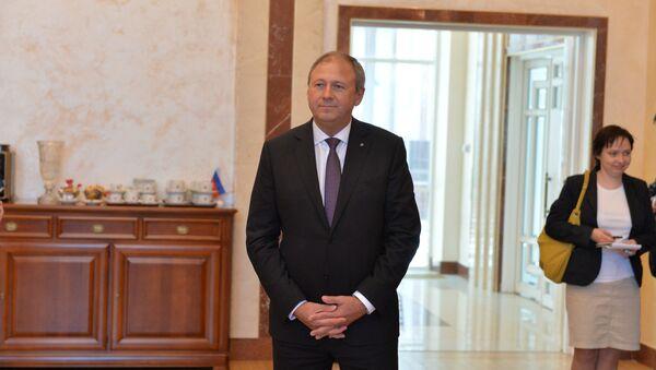 Сергей Румас в посольстве РФ - Sputnik Беларусь