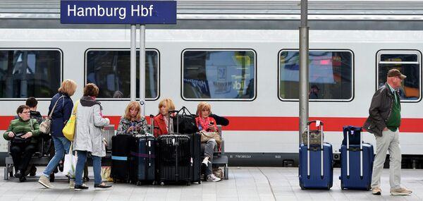 Поезд Deutsche Bahn - Sputnik Беларусь