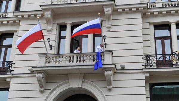 Флаги России и Польши - Sputnik Беларусь