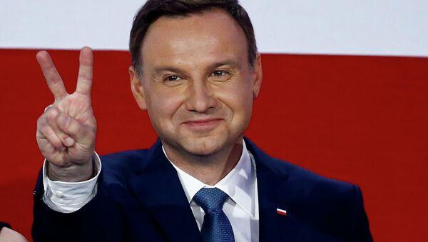 Прэзідэнт Польшчы Анджэй Дуда - Sputnik Беларусь