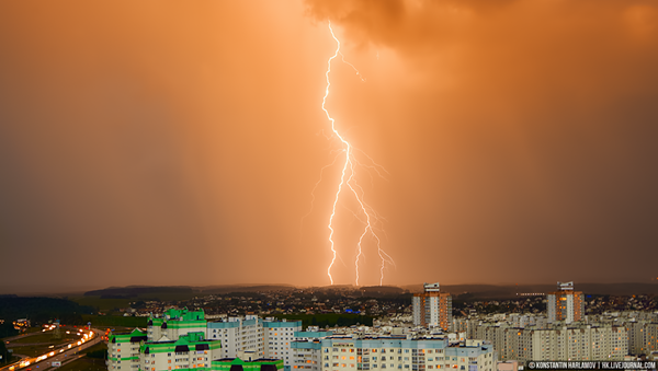 Навальніца ў Мінску - Sputnik Беларусь