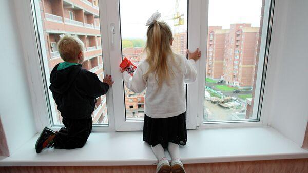 Дети в новостройке - Sputnik Беларусь