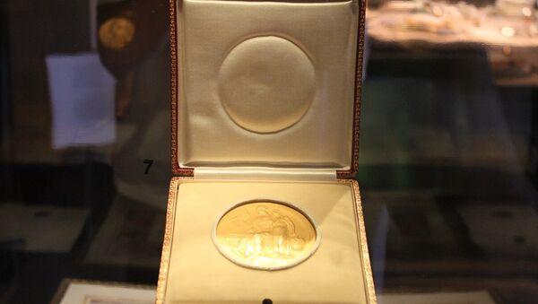 Медаль нобелеўскага лаўрэата - Sputnik Беларусь