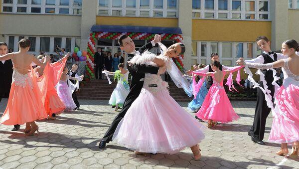 Последний звонок в гимназии № 12 Минска - Sputnik Беларусь