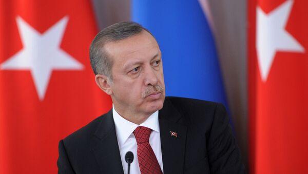 Премьер-министр Турции Реджеп Тайип Эрдоган - Sputnik Беларусь