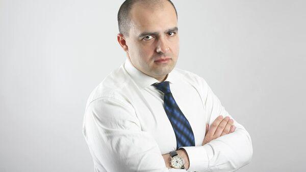 Алег Гайдукевіч, намеснік старшыні партыі ЛДПБ - Sputnik Беларусь
