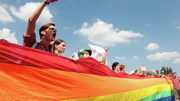 Акция ЛГБТ-сообщества, архивное фото - Sputnik Беларусь