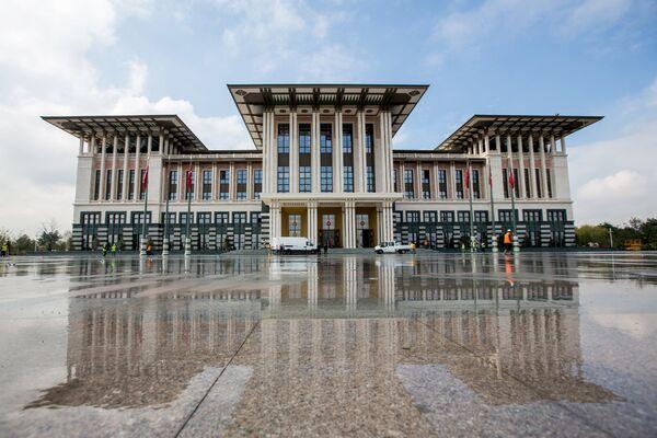 Президентский дворец в Анкаре - Sputnik Беларусь