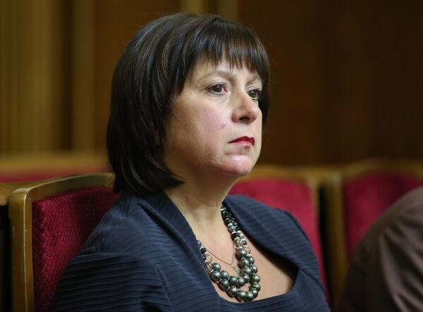 Глава Минфина Украины Наталия Яресько - Sputnik Беларусь