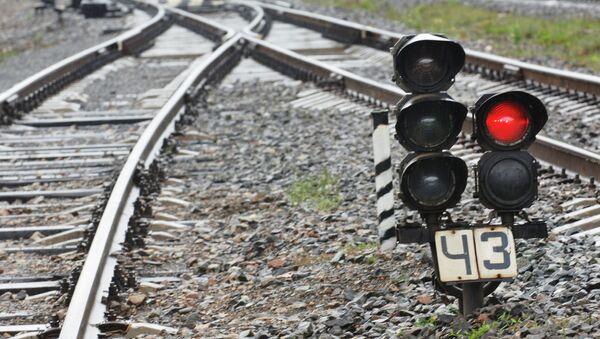 Железнодорожный светофор - Sputnik Беларусь