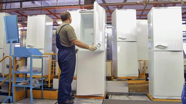 Производство холодильников - Sputnik Беларусь