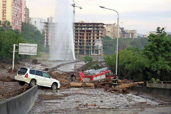 Наводнение в Тбилиси - Sputnik Беларусь