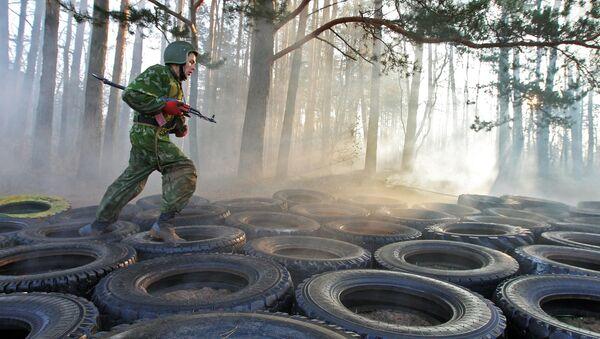 Военнослужащий войск специального назначения Беларуси - Sputnik Беларусь
