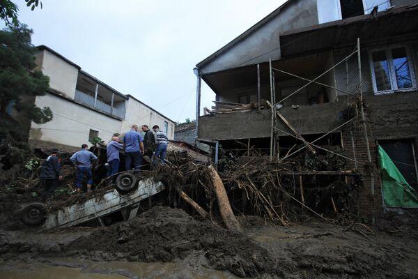 Последствия наводнения в Тбилиси - Sputnik Беларусь