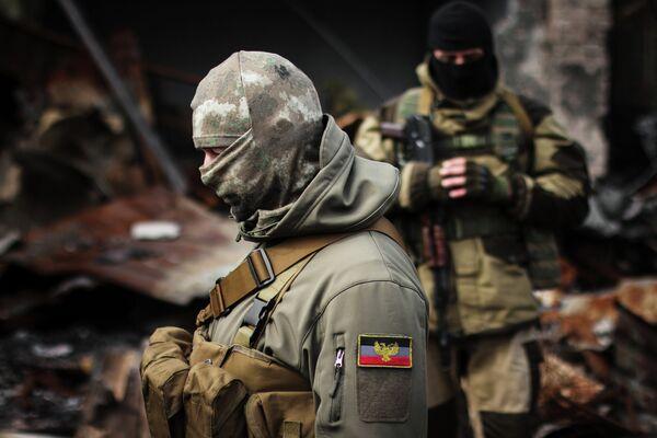 Ополченцы Донецкой народной республики (ДНР) - Sputnik Беларусь