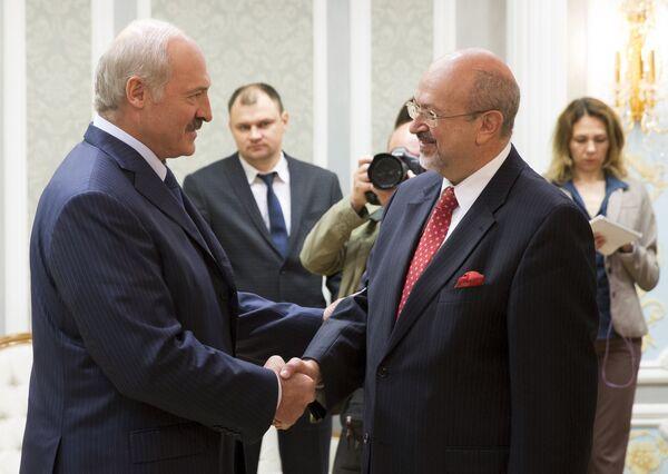 Александр Лукашенко и Ламберто Заньер - Sputnik Беларусь