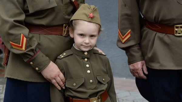 Театрализованная акция Последний мирный день в Бресте, приуроченная к началу ВОВ - Sputnik Беларусь