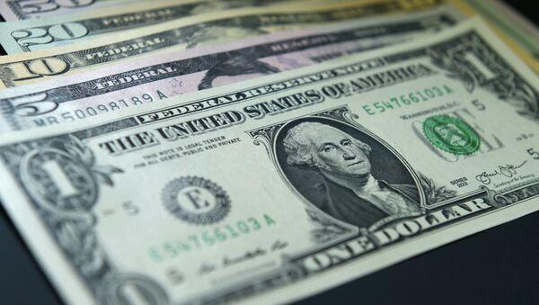 Купюры долларов США - Sputnik Беларусь