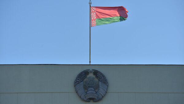Герб і сцяг Рэспублікі Беларусь - Sputnik Беларусь