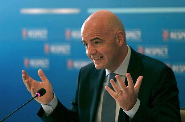 Генеральный секретарь УЕФА Джанни Инфантино - Sputnik Беларусь