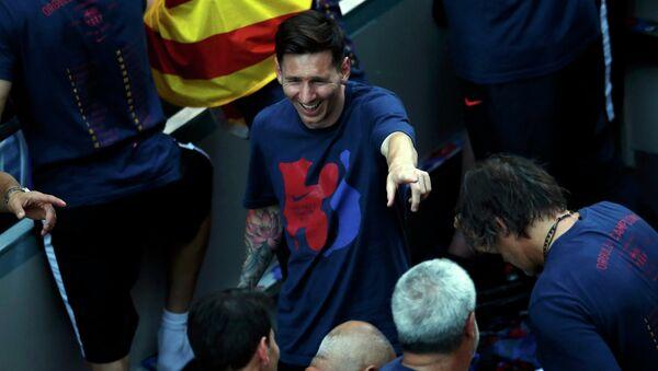 Игрок испанской Барселоны Лионель Месси - Sputnik Беларусь