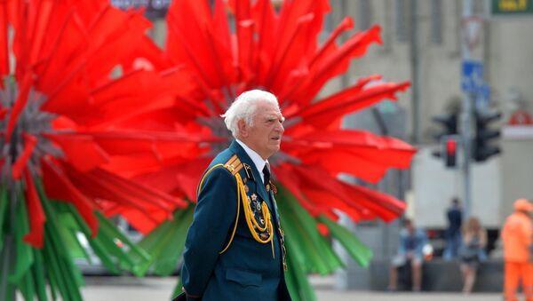 Флаги на день Независимости, архивное фото - Sputnik Беларусь
