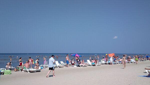 Пляж в Юрмале - Sputnik Беларусь