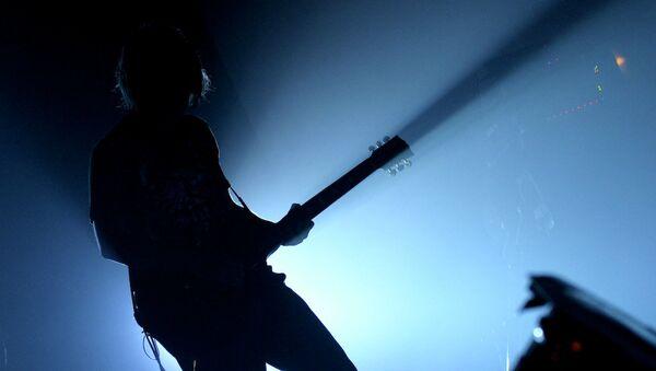 Гитарист на фестивале - Sputnik Беларусь