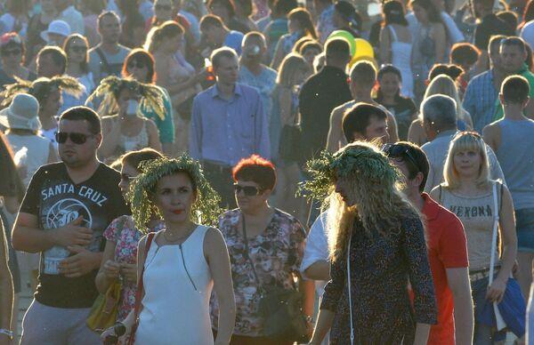 Отпраздновать Купалье в Александрию съехалось много друзей - Sputnik Беларусь
