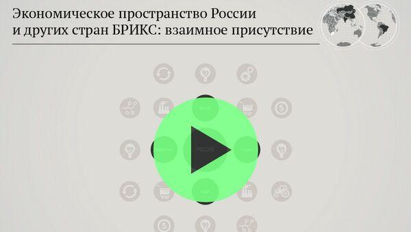 Экономическое пространство России и других стран БРИКС: взаимное присутствие - Sputnik Беларусь