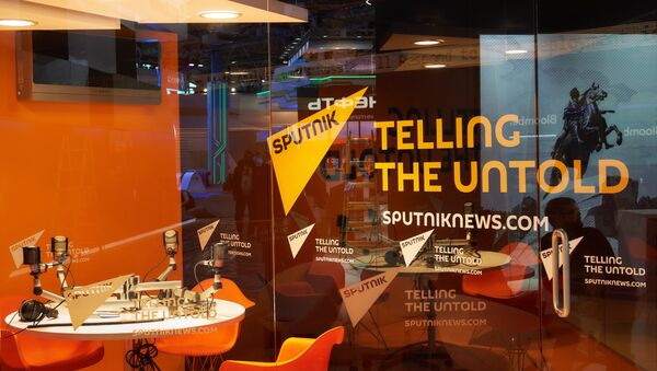 Павильон международного информационного бренда Sputnik - Sputnik Беларусь